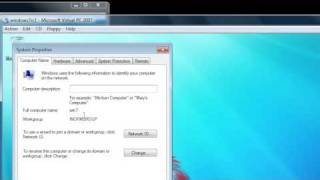how to create domain in windows 7 youtube