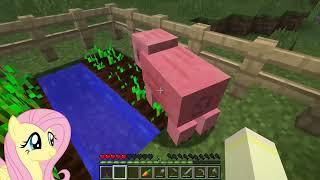 Video BREAADD!! [Fluttershy Plays: Minecraft Episode 2] MP3, 3GP, MP4, WEBM, AVI, FLV Mei 2019