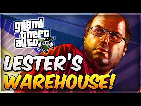 GTA 5 Online Secret Locations - How To Get Into Lester's Warehouse! (GTA 5 Glitches)