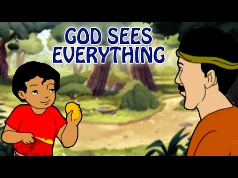God Sees Everything | Moral Values And Moral Lessons For Kids In English | Animated English Stories