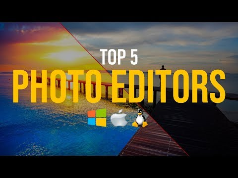 Top 5 Best FREE Photo Editing Software