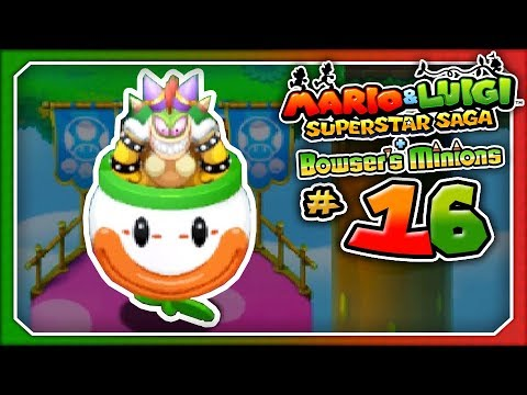 Mario & Luigi: Superstar Saga + Bowser's Minions - Part 16: THEY GOT PEACH! (3DS)