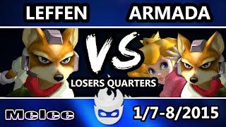Paragon 2015 – Leffen vs Armada (Losers Quarters) (x-post /r/smashbros)
