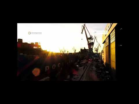 Видео установки первого реактора наатомный ледокол «Сибирь»