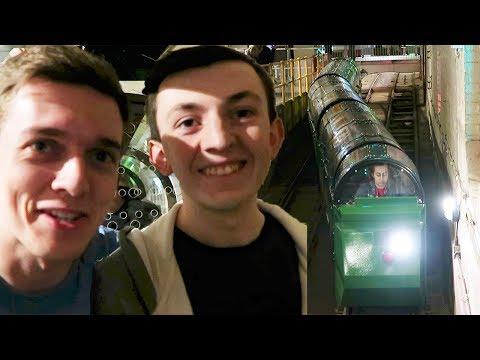 Riding Mail Rail: Secret Underground Tube