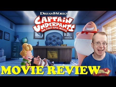Captain Underpants: The First Epic Movie (2017) - Movie Review