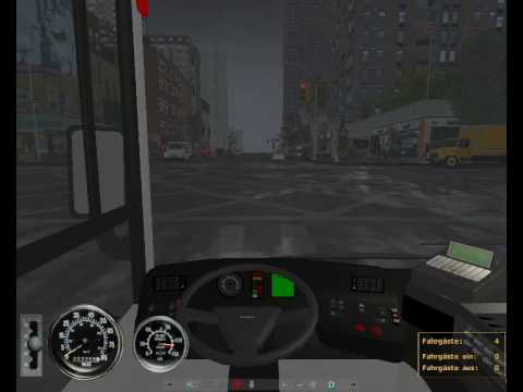City Bus Simulator 2010 - Vol. 1: New York - Feat. Design-X X3-Evo