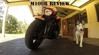 8. Suzuki M109R Quick Review / Walk around Boulevard BOSS 2015