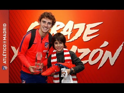 Nuestro jugador Josetxo, ganador de Masterchef Junior, conoció el Wanda Metropolitano y a sus ídolos