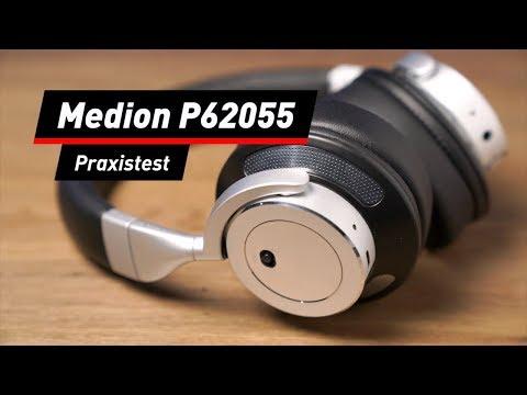 Medion Life P62055: Bluetooth-Kopfhörer im Praxis-Test