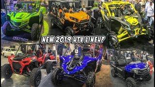8. New 2019 SXS/UTV Lineup - Reviews + Walkarounds - Polaris, Yamaha, Can-Am, Kawasaki, Textron, Honda