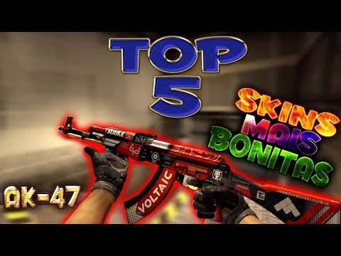 Video [CS:GO] TOP 5 SKINS DE AK-47 MAIS BONITAS download in MP3, 3GP, MP4, WEBM, AVI, FLV January 2017