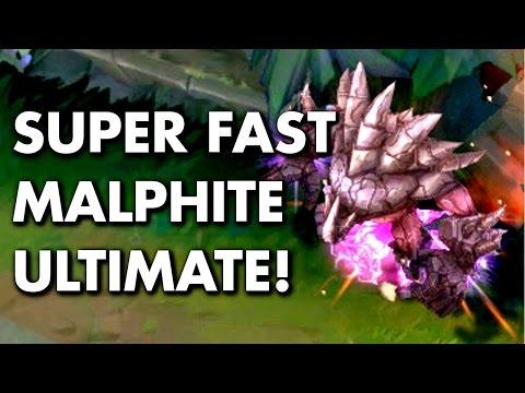 MALPHITE ULT TRICK! Super Fast Ult! (Tips & Tricks) - Thời lượng: 1:35.