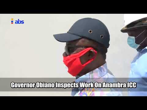 Governor Willie Obiano Inspects Work On Anambra International Conference Centre