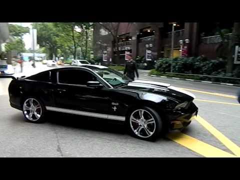 马来西亚第一辆超帅气的Ford Mustang GT,车牌JUC 1
