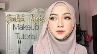 Video Gold Eyes Makeup Tutorial MP3, 3GP, MP4, WEBM, AVI, FLV Mei 2019