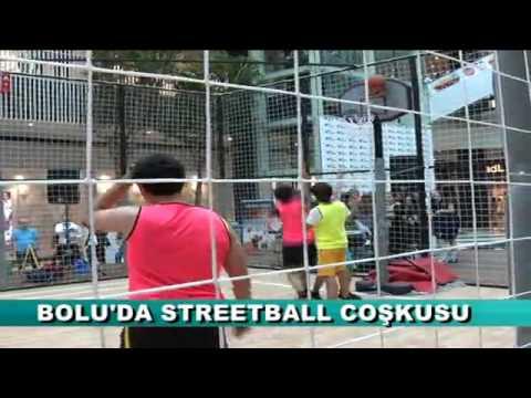 BOLU'DA STREETBALL COŞKUSU
