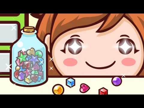 【Cooking Mama Movie】Ichigo, Playing With Beads! ビーズでつくる!