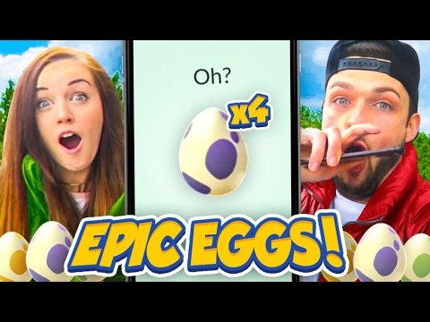 OPENING *FOUR* SUPER RARE EGGS! 🐣 (WHAT WILL I GET?) - Pokemon GO (Easter Update)