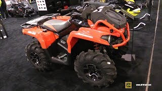 6. 2018 Can Am Outlander X mr 570 Utility ATV - Walkaround - 2017 Toronto ATV Show