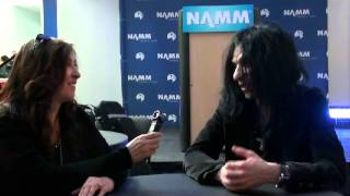 Interview/Performance with Mike Campese @ NAMM 01/25/15 in Anaheim,CA