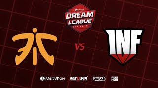 Fnatic vs Infamous, DreamLeague Season 11 Major, bo3, game 1 [4ce & Lum1Sit]
