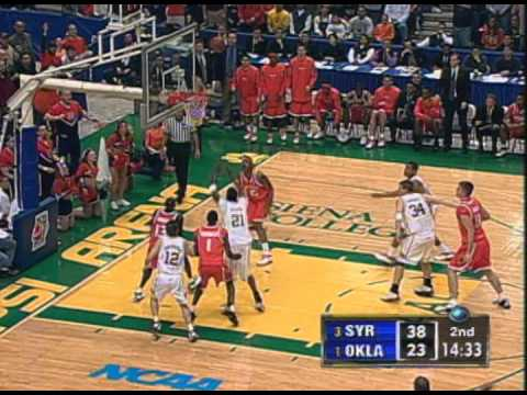 2003 NCAA Basketball Regional Final – Syracuse vs Oklahoma