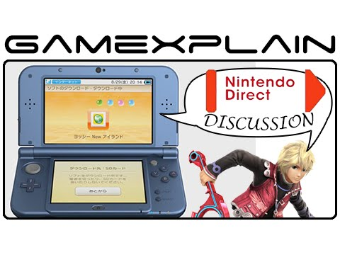 3ds - http://www.GameXplain.com The Japanese Nintendo Direct focused on the 3DS has come and gone, and we're left with the shocking reveals of not only Shulk in Super Smash Bros for Wii U & 3DS,...