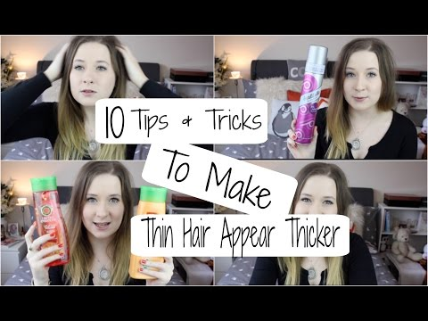 My Top 10 Tips & Tricks for Thin Hair || PollyPocketBeauty