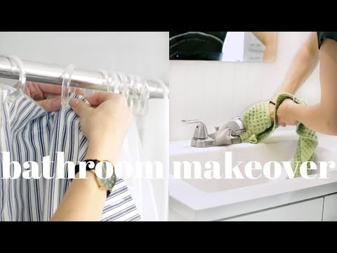 清潔浴室簡單方法