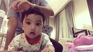 Sayang sangat Dato Aliff Syukri dengan Qayyum.Makin hari makin handsome