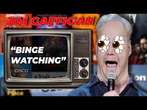 """Binge Watching"" - Jim Gaffigan Stand up (Cinco)"