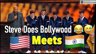 Video Michael Jackson Meets INDIAN Bollywood | Steve Harvey | Shraey Khanna | Showtime at Apollo MP3, 3GP, MP4, WEBM, AVI, FLV Desember 2018