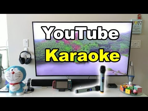 Youtube Karaoke Party Setup Wireless Microphones