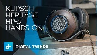 Video Klipsch Heritage HP-3 Headphones - Hands On Review MP3, 3GP, MP4, WEBM, AVI, FLV Juni 2018