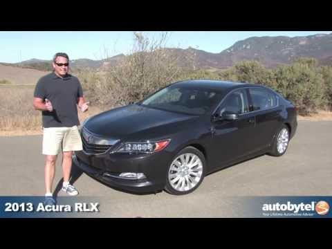 2014 Acura RLX Video Review