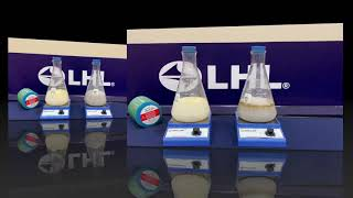 So sánh sự nhũ tương hóa của mỡ LHL và dầu nhờn 68 trong nước tưới nguội