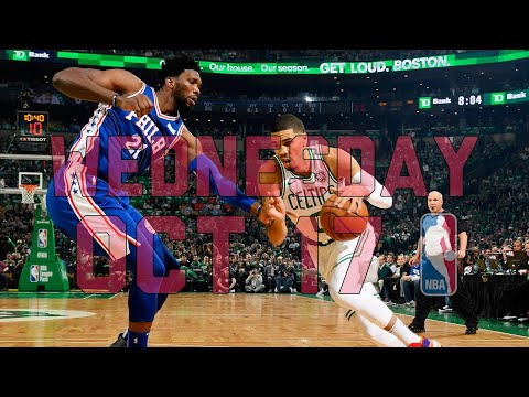 Video: NBA Daily Show: Oct. 17 - The Starters