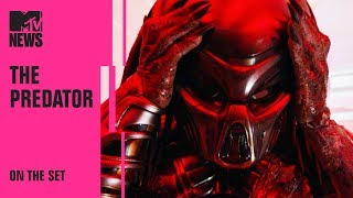 VIDEO: THE PREDATOR – Behind the Scene From MTV News