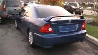 6. 2005 Honda Civic Si Coupe Startup Engine & In Depth Tour