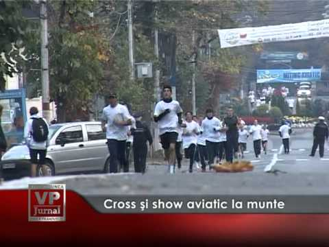 Cross și show aviatic la munte