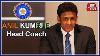 Anil Kumble Is Team India's Head Coach