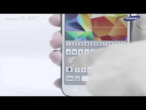 Samsung GALAXY S5 - jak korzystać z funkcji skanera odcisków palców
