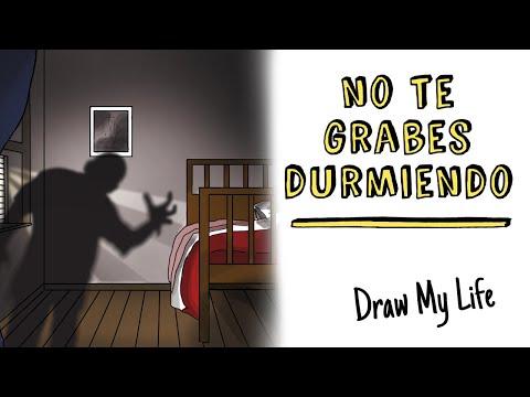 No te grabes durmiendo 🔉😱  Draw My Life Terror