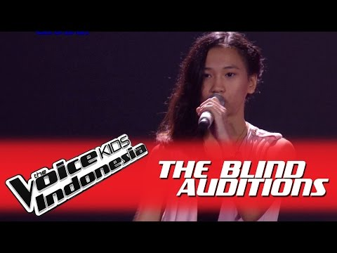 "Indira ""Chandelier"" I The Blind Auditions I The Voice Kids Indonesia GlobalTV 2016"