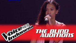 "Video Indira ""Chandelier"" I The Blind Auditions I The Voice Kids Indonesia GlobalTV 2016 MP3, 3GP, MP4, WEBM, AVI, FLV Juli 2018"