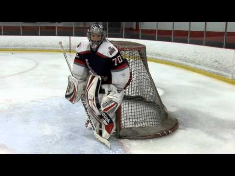 Gotta Love CT Hockey Drill – Push, Stop, Recovery Goalie Drill