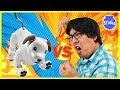 Download Video ROBO DOG AIBO VS. RYAN'S DADDY ! Who is the Better Robot Dog ?