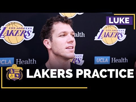 Video: Luke Walton On What Brandon Ingram Has To Do To Become Lakers Closer
