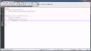 PHP Tutorials: Register&Login (Part 6): Error Handling